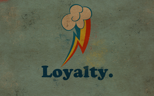 Wallpaper - Worn Loyalty by ElectricCoffee