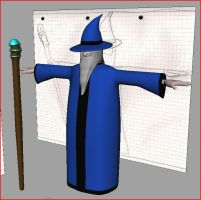 Wizard model - Maya by The-Mysterious-MJ