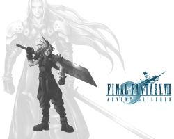 FF Advent Children by Hand-Drawn