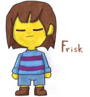 Frisk by YouCanDrawIt