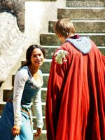 Angel Coulby and Bradley James by MagicalPictureMaker