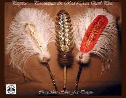Feather Quill Dip Pens by ChaeyAhne