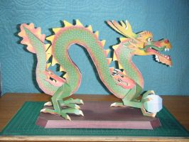 Chinese Luck Dragon Statue 12 by devastator006