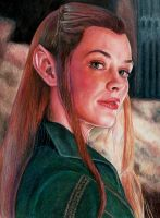 Tauriel by Pevansy