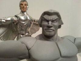Quicksilver leader of the Silverhawks without mask by prince-allion