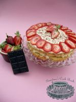 Strawberry Shortcake by Mrs-Yum-Yums