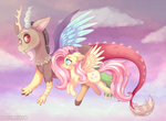Fly with me by Fallenpeach