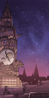 The Clock Tower by Arabesque91