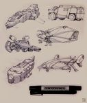 Marker Sketches 2 by Hideyoshi