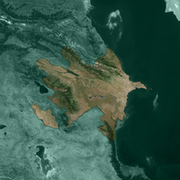 Terra Map Azerbaijan Green by Xumarov
