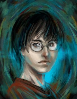 Harry Potter on speed by Artistic-Defiance