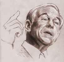 Candidate Ron Paul - - Presidential Race 2008 by gregchapin