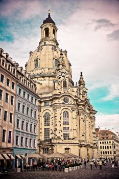 The Dresdner Frauenkirche by coolke
