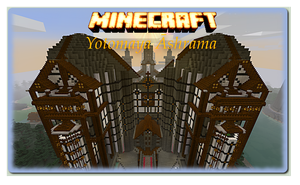 Minecraft Ahrama Noth Gate by anthonywinterton