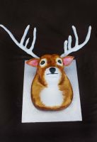 3D Deer Cake by Verusca