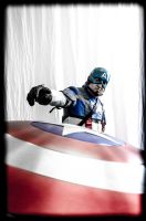 Last thing I saw Captain America Cosplay by Studio5Graphics
