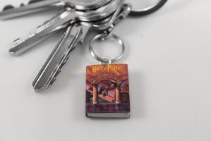 Harry Potter Miniature Book Keychain by Saint-Rise