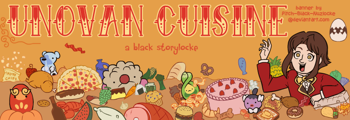 COMMISSION: Unovan Cuisine Banner by Pitch-Black-Nuzlocke