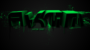 Speedart - Green by AktimTheOne