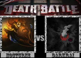 Death Battle: Nocturne Vs. Darkrai by M60RPD