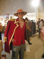 Luffy Gold Comicon 2009 by axel91