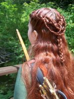 Faire Hair--Elven Ranger by celticbard76