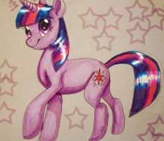 Twilight sparkle by 8loodyrain