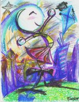 Phill and Natalie Crayon 1 by CalenthrellII