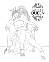 Prize: Hail to the Queen for Carol-Colors by Miserie