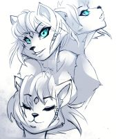 KRYSTALS FACES by WhiteFox89