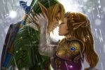 The Legend of Zelda - How to win a Princess's kiss by KejaBlank