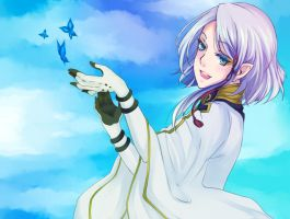 Last Exile: The sky is I by marialife