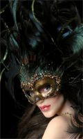 Venetian Courtesan - face by wingdthing