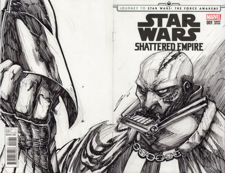 DARTH VADER SKETCH by Sandoval-Art