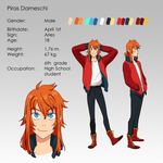 Piras character sheet by Flipfloppery