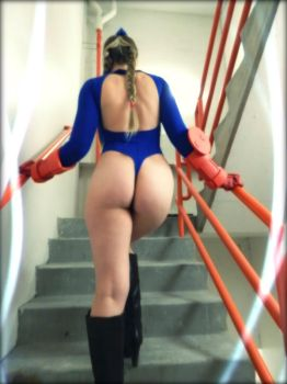 Cammy Stairwell 1 by TheFineTrouble