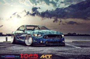 Mustang 2015 Stancing** - 2CBVT by DacheryDesign