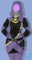 Tali'Zorah by GhostGirlVII