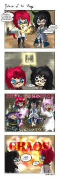 FFXIV 4koma: Palace of the Nope by DinDeen