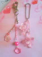 Pink Keychains by Maryl0