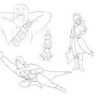 Livestream Doodles 6-9-13 by Starfighterace-421