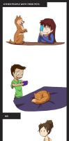 Other People and Their Pets by x-RainFlame-x