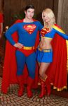 Superman and Super Girl 1 by Insane-Pencil