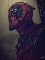 Deadpool - Marvel by juliodelrio