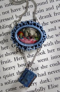 Hatters Tea Party Necklace by NeverlandJewelry