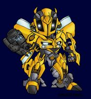 baby bumblebee transformers by micky86