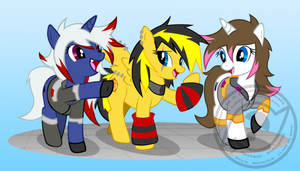 Pony up commission lol by Trakker