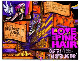 Love Has Pink Hair: PAGE 3 by ScarecrowArtist