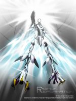 Digimon Reformation - Turn-Omegamon (draft) by Vinsuality