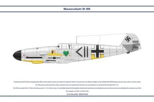 Bf 109 F-2 JG54 4 by WS-Clave